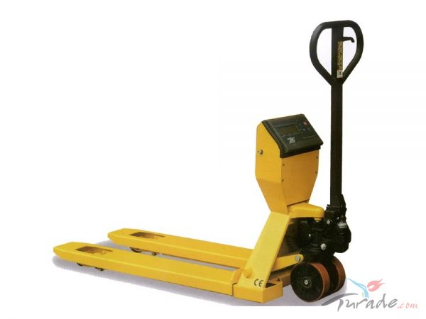Hand Pallet Truck with Weighing Scale,Manual pallet jack